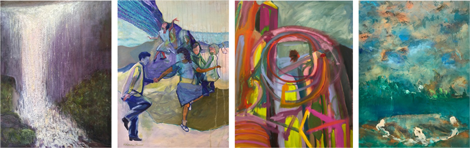 A group exhibition featuring the works of Michele Caplan, Janice Ferro, Leslie Fenn Gershon, and Rhonda Tawil.